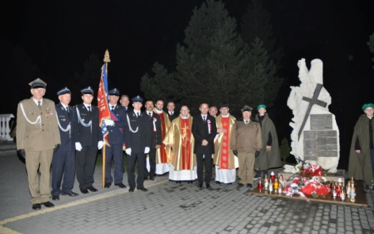 """""""Nasza Niepodległa"""" obchody 100- lecia Odzyskania przez Polskę Niepodległości w Krowicy Samej"""
