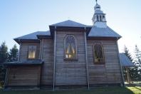 Jubileusz 85-lecia zabytkowego kościoła p.w. Przemienienia Pańskiego w Krowicy Samej 2018_07