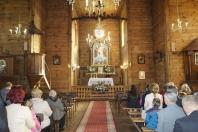 Jubileusz 85-lecia zabytkowego kościoła p.w. Przemienienia Pańskiego w Krowicy Samej 2018_17