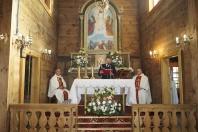 Jubileusz 85-lecia zabytkowego kościoła p.w. Przemienienia Pańskiego w Krowicy Samej 2018_25